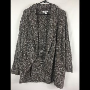 Style & co knit duster cardigan size 1X